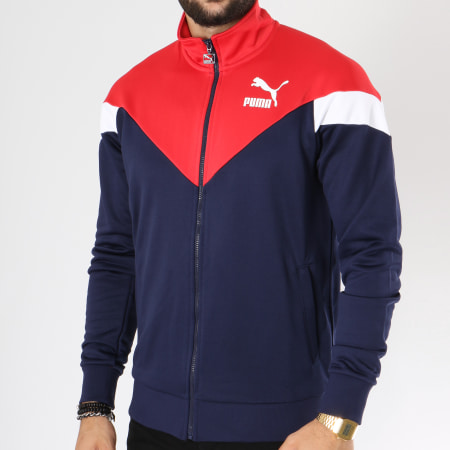 veste puma bleu blanc rouge discount code