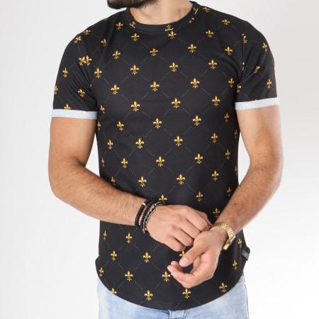 Uniplay - Tee Shirt Oversize T335 Noir
