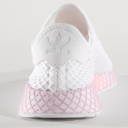 adidas - Baskets Femme Deerupt B37601 Footwear White Clear ...
