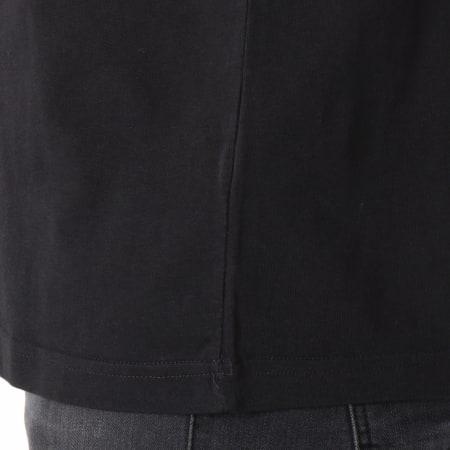 adidas - Tee Shirt Trefoil CW0709 Noir Blanc