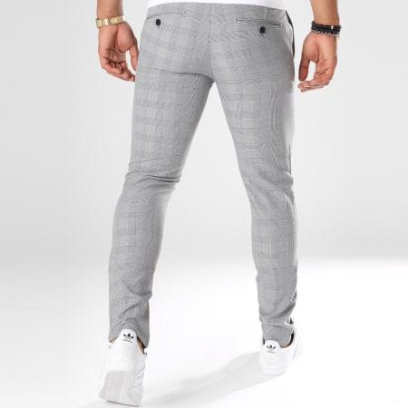 Classic Series - Pantalon A Carreaux 28001 Gris