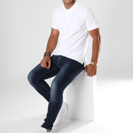 Pepe Jeans - Polo Manches Courtes Vincent Blanc