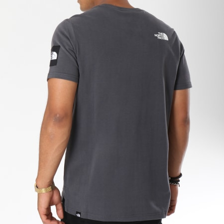 The North Face - Tee Shirt Fine 2 Gris Anthracite