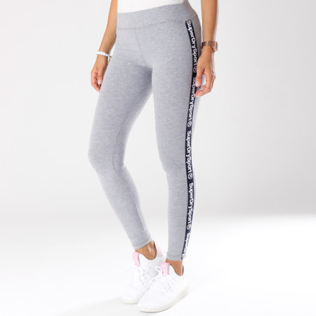 Superdry Legging Femme Bande Brodée Dry Athletic GS3002MR
