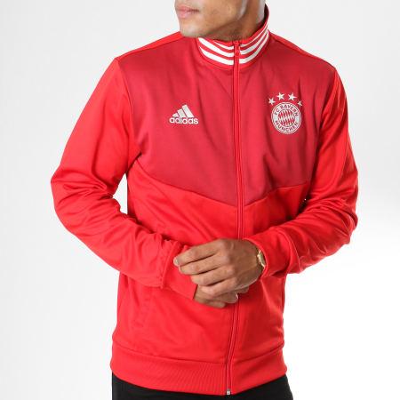 adidas Veste Zippée FC Bayern München 3 Stripes CW7335