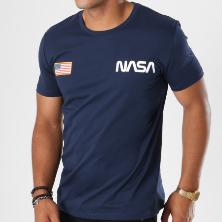 NASA - Tee Shirt Chest Bleu Marine
