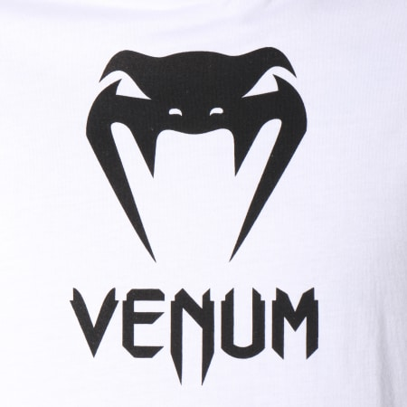 Venum - Tee Shirt Classic Blanc Noir