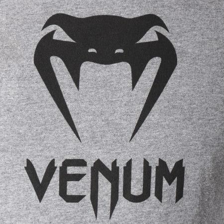 Venum - Tee Shirt Classic Gris Chiné Noir