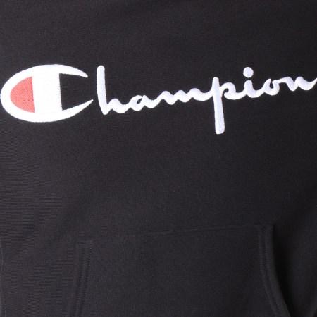 Champion - Sweat Capuche 212574 Noir