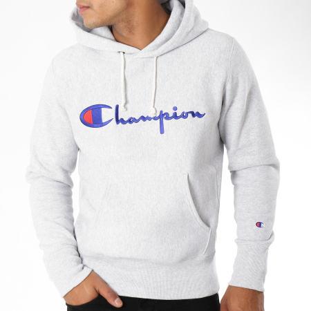 Champion - Sweat Capuche 212574 Gris Chiné