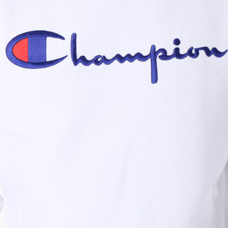 Champion - Sweat Crewneck 212576 Blanc