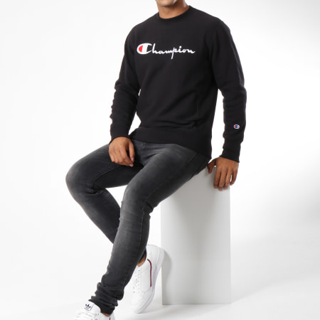 Champion - Sweat Crewneck 212576 Noir