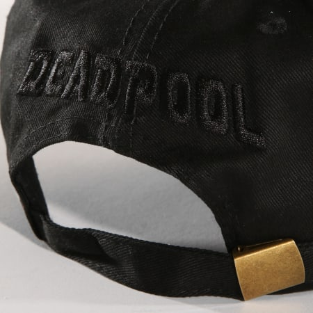 Marvel - Casquette Deadpool Noir
