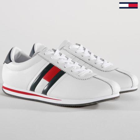 Tommy Hilfiger Jeans - Baskets Retro Flag EM0EM00182 White