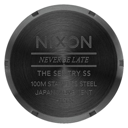 Nixon - Montre Sentry SS A356-1147 Noir