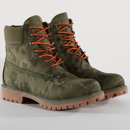 bottine timberland kaki
