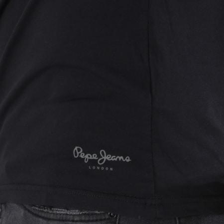 Pepe Jeans - Tee Shirt Manches Longues Original Noir