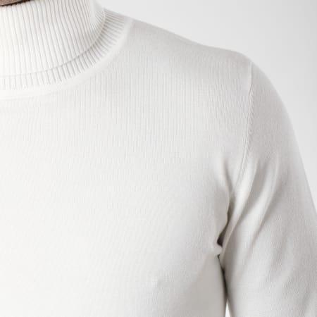 Frilivin - Pull M-037 Blanc