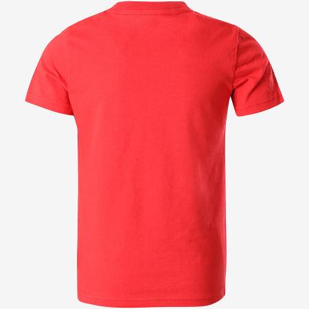 PSG - Tee Shirt Enfant Paris Saint-Germain Rouge