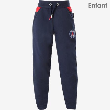 PSG - Pantalon Jogging Enfant Paris Saint-Germain Bleu Marine