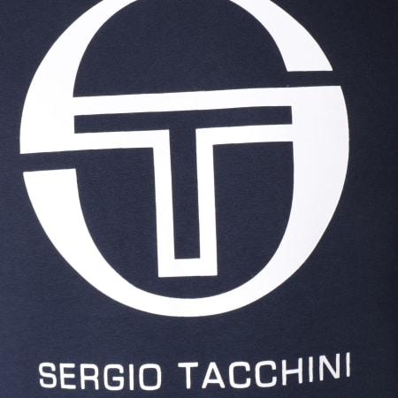 Sergio Tacchini - Sweat Capuche Zion Bleu Marine