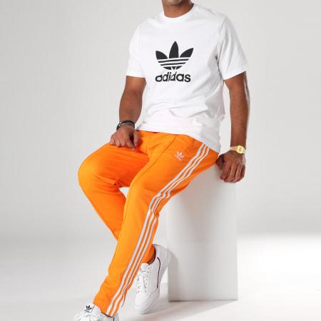 adidas beckenbauer orange pantalon