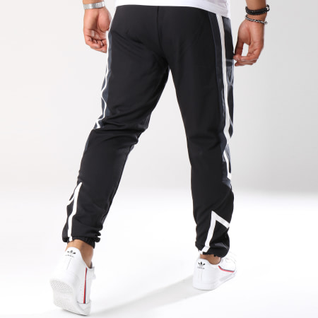 Unkut - Pantalon Jogging Jet Noir Gris Anthracite