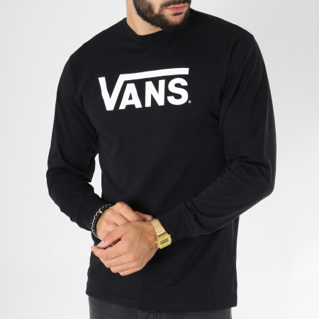 Vans - Tee Shirt Manches Longues Classic Noir