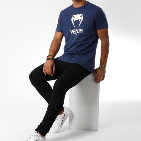 Venum - Tee Shirt Classic Bleu Marine