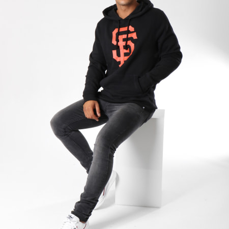 47 Brand Sweat Capuche Headline San Francisco Giants Noir