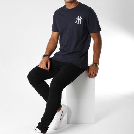 '47 Brand - Tee Shirt Headline Back New York Yankees Bleu Marine