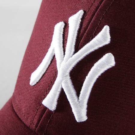 '47 Brand - Casquette Trucker Branson MVP MLB New York Yankees Bordeaux