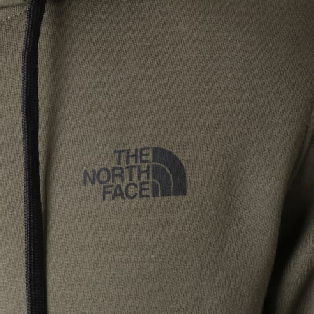The North Face - Sweat Zippé Capuche Open Gate Vert Kaki