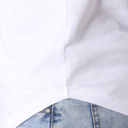 NASA - Tee Shirt Oversize Worm Logo Blanc