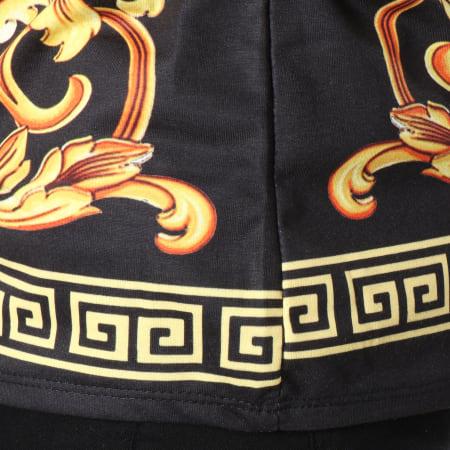 Uniplay - Tee Shirt T369 Noir Renaissance