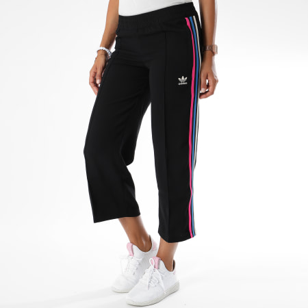 jogging adidas femme noir et rose