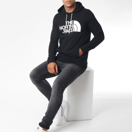 The North Face - Sweat Capuche Drew Noir