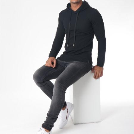 Uniplay - Sweat Capuche Oversize 517602 Noir