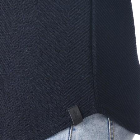 Uniplay - Sweat Capuche Oversize 517602 Bleu Marine