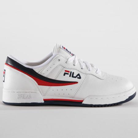 Fila Baskets Femme Original Fitness 1010484 150 White Navy