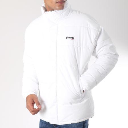 Schott NYC - Doudoune Nebraska Blanc