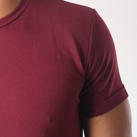 Aarhon - Tee Shirt 1813 Bordeaux
