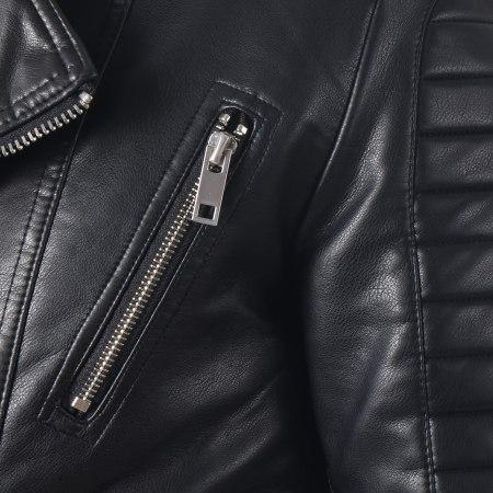 Terance Kole - Veste Biker 79628 Noir