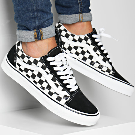 Vans Baskets Old Skool A38G1P0S1 Black White