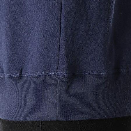 Ellesse - Sweat Crewneck 1032N Tricolore Bleu Marine Blanc Bordeaux