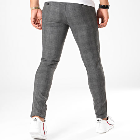 Mackten - Pantalon A Carreaux 28006 Gris
