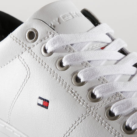 Tommy Hilfiger - Baskets Essential Leather 2157 100 White