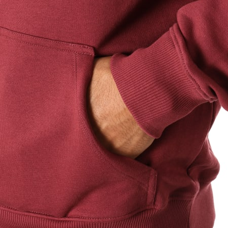 Calvin Klein - Sweat Capuche Institutional 9528 Bordeaux