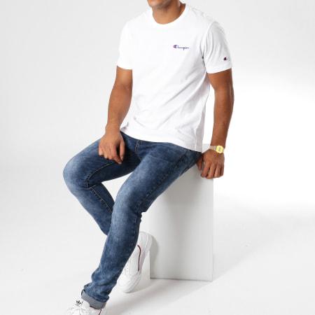 Champion - Tee Shirt 211985 Blanc