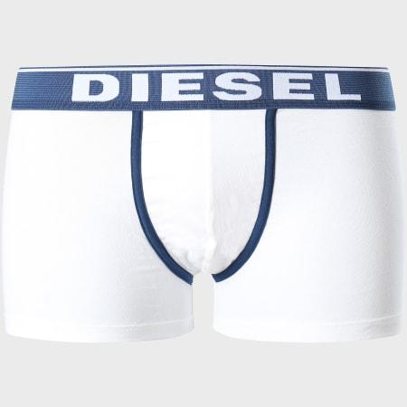 Diesel - Lot De 3 Boxers Damien 00ST3V-0JKKC Blanc Gris Chiné Bleu Marine